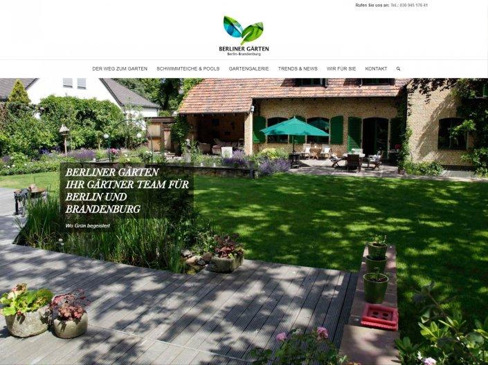 Berliner Gärten Gartenbau