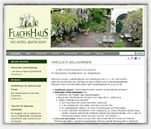 BIO-Hotel-Restaurant FLACHSHAUS / Wachtendonk