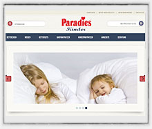 Screen Paradies Kindershop