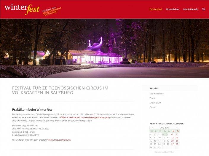 Winterfest Zirkusfestival Salzburg