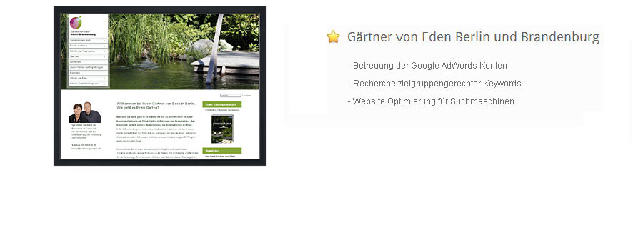 E-Marketing (Suchmaschinen-Optimierung, Google AdWords, Newsletter)